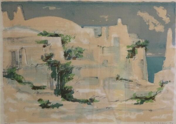 130#5936 Litografia Peschici in vendita - foto 1