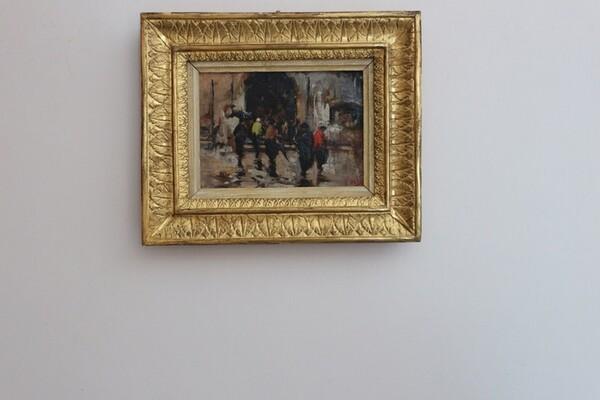 14#5936 Dipinto Figure in vendita - foto 2