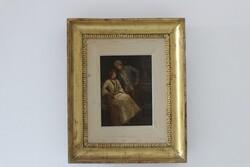 Dipinto Scena Galante - Lotto 19 (Asta 5936)