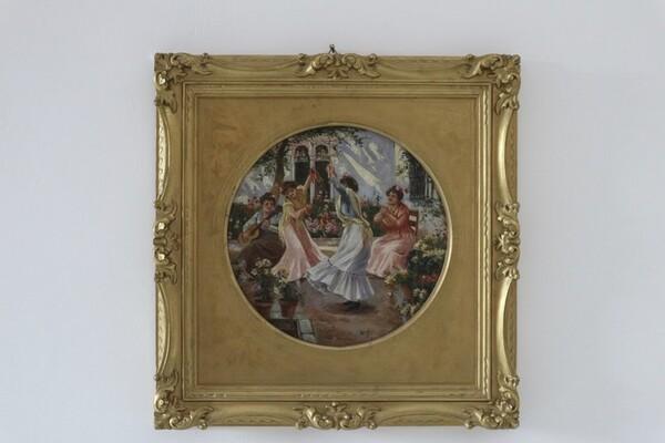 2#5936 Dipinto La Tarantella in vendita - foto 2