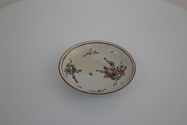 211#5936 Piattini per tazzina decorati alla rosa in vendita - foto 2