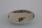 Vassoietto costolato con dipinto frutto policromo - Lotto 214 (Asta 5936)