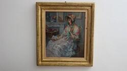 Painting Civetteria - Lot 22 (Auction 5936)