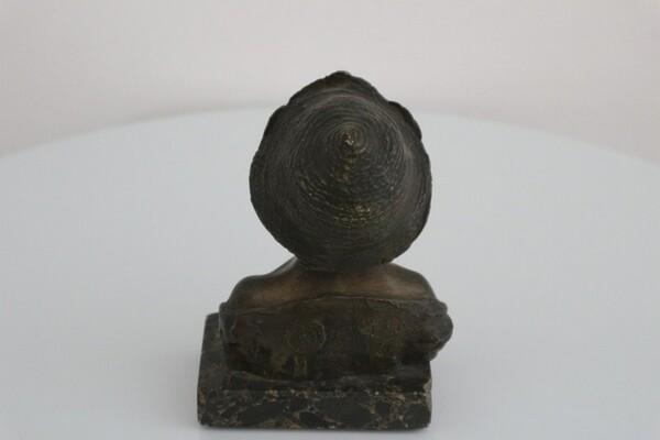229#5936 Statuina Busto Di Giovinetto in vendita - foto 2