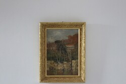 Painting Giardini D Inverno - Lot 23 (Auction 5936)