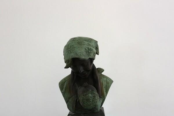 231#5936 Statuina Abbraccio Materno in vendita - foto 2