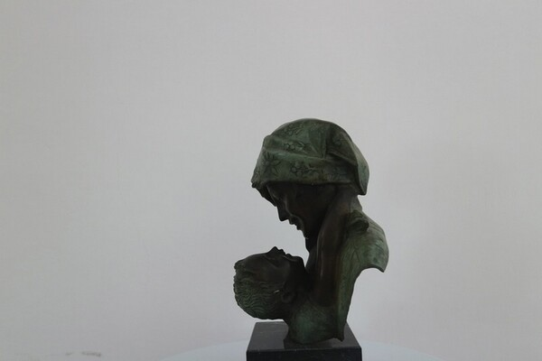 231#5936 Statuina Abbraccio Materno in vendita - foto 3