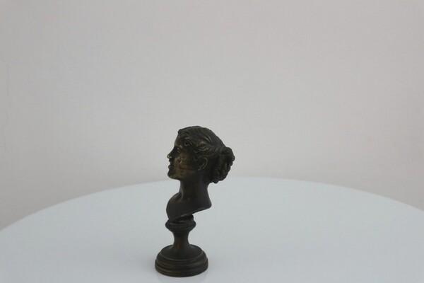240#5936 Statuina Testa Femminile in vendita - foto 3