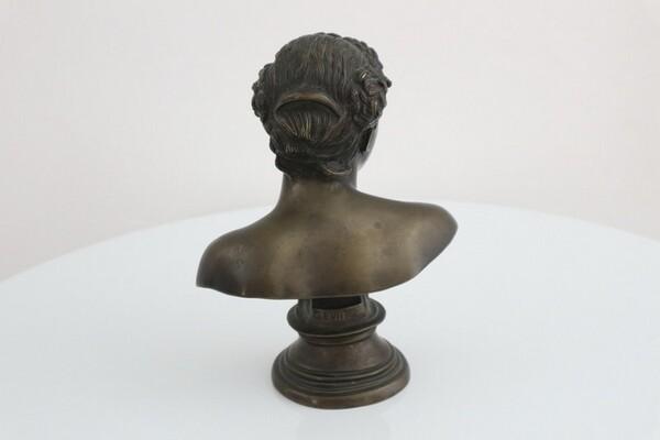 242#5936 Statuina Busto Di Anna in vendita - foto 3