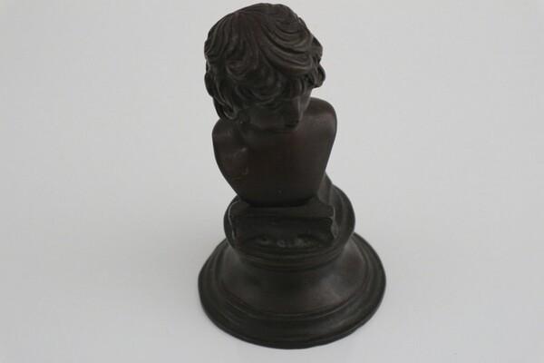 244#5936 Statuina Busto Di Antin S. Bronzo in vendita - foto 3