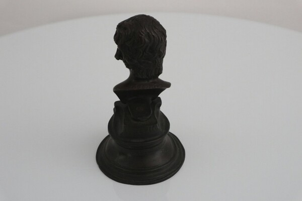 244#5936 Statuina Busto Di Antin S. Bronzo in vendita - foto 5