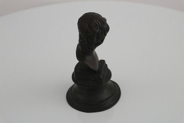 244#5936 Statuina Busto Di Antin S. Bronzo in vendita - foto 6