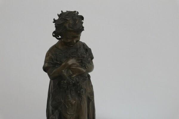 247#5936 Statuina Contadinella Tra Le Oche in vendita - foto 6