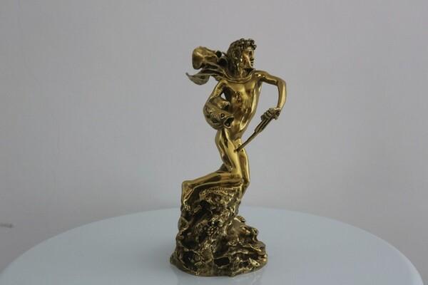 249#5936 Statuina Nettuno Giovinetto in vendita - foto 2