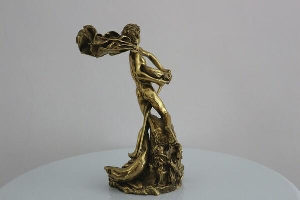 249#5936 Statuina Nettuno Giovinetto in vendita - foto 4