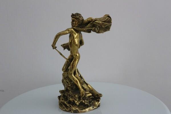 249#5936 Statuina Nettuno Giovinetto in vendita - foto 7