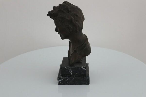 250#5936 Statuina Busto Di Scugnizzo in vendita - foto 2