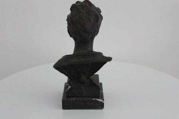 250#5936 Statuina Busto Di Scugnizzo in vendita - foto 3
