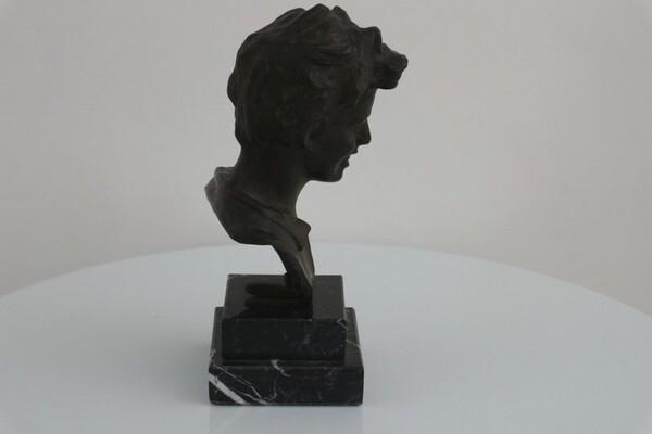250#5936 Statuina Busto Di Scugnizzo in vendita - foto 4