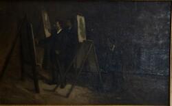 Dipinto Pittori Al Cavalletto - Lotto 28 (Asta 5936)