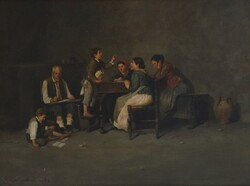 Painting Interno - Lot 32 (Auction 5936)