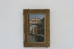 Dipinto Ponte Dei Sospiri Venezia - Lotto 34 (Asta 5936)