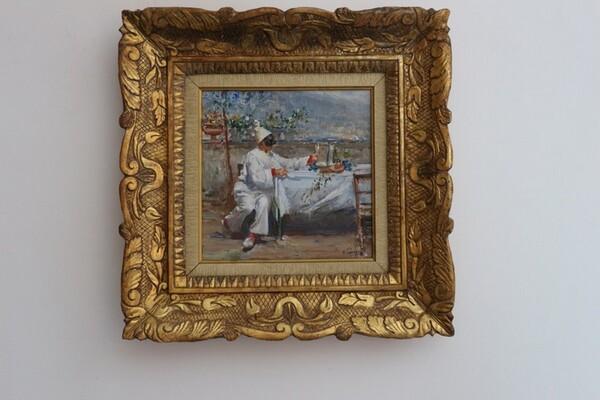 35#5936 Dipinto Pulcinella in vendita - foto 2