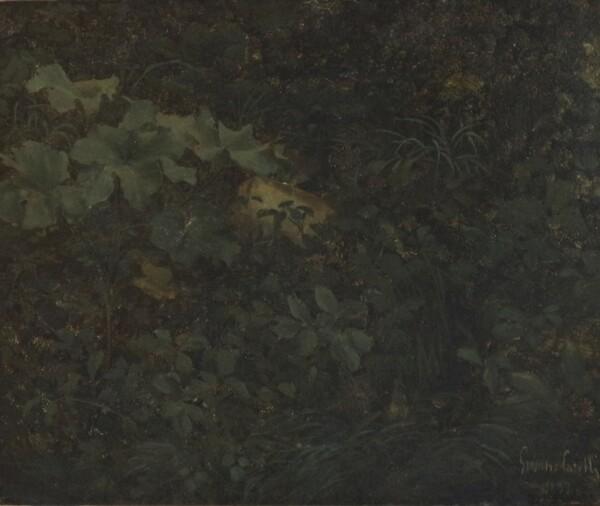 40#5936 Dipinto Fogliame in vendita - foto 1