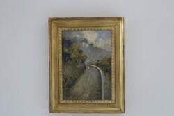 Dipinto Paesaggio - Lotto 42 (Asta 5936)