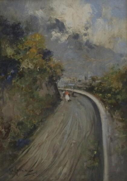 42#5936 Dipinto Paesaggio in vendita - foto 2