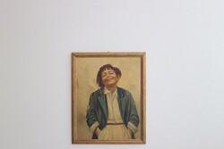 Dipinto Scugnizzo Napoletano - Lotto 55 (Asta 5936)