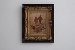 Dipinto I Guardiani Di Tacchini - Lotto 63 (Asta 5936)