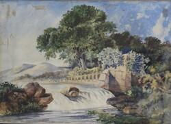 Dipinto Paesaggio Fluviale - Lotto 79 (Asta 5936)