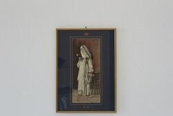 Dipinto Monaca In Atto Di Leggere - Lotto 89 (Asta 5936)