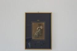 Dipinto Ritratto Di Giovane Donna In Costume - Lotto 96 (Asta 5936)