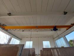 Single girder overhead crane L A S  - Lot 1 (Auction 5949)