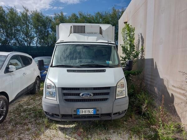 1#5955 Furgone isotermico Ford Transit e attrezzature elettroniche ufficio in vendita - foto 1