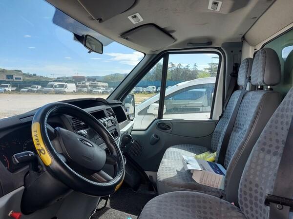 1#5955 Furgone isotermico Ford Transit e attrezzature elettroniche ufficio in vendita - foto 9