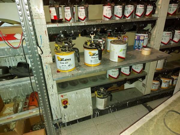 2#5956 Vernici e attrezzature tintometrice in vendita - foto 2