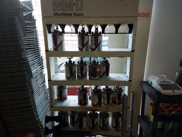 2#5956 Vernici e attrezzature tintometrice in vendita - foto 10