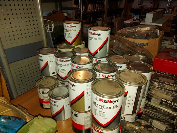 2#5956 Vernici e attrezzature tintometrice in vendita - foto 17