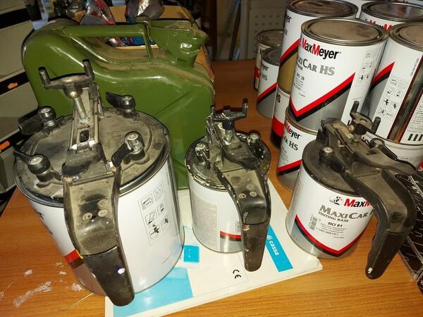2#5956 Vernici e attrezzature tintometrice in vendita - foto 18