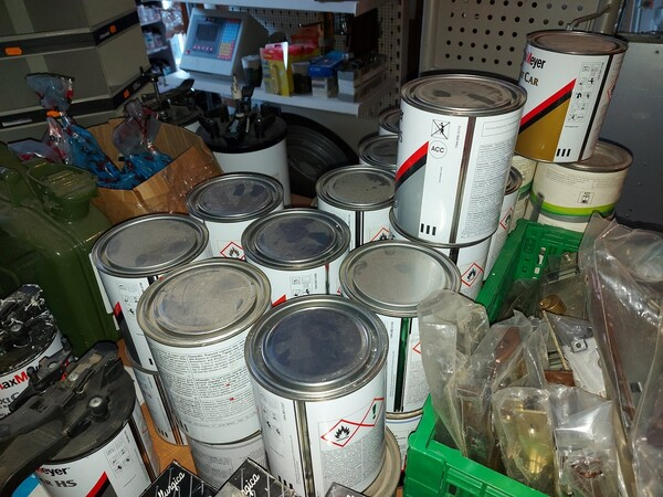 2#5956 Vernici e attrezzature tintometrice in vendita - foto 19