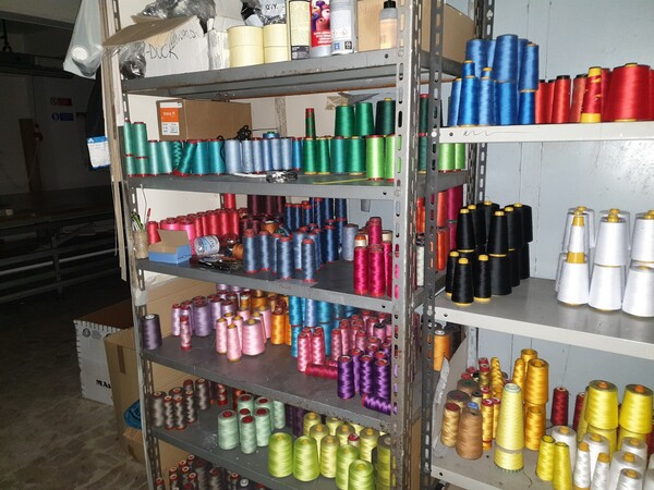 5#5990 Materie prime per lavorazione tessile e capi abbigliamento in vendita - foto 1