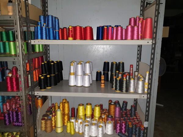 5#5990 Materie prime per lavorazione tessile e capi abbigliamento in vendita - foto 4