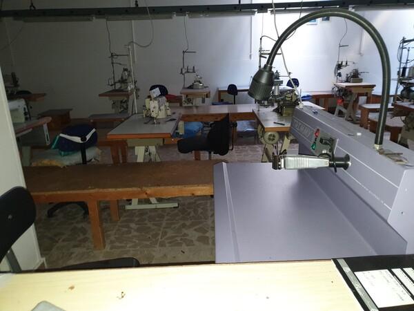 5#5990 Materie prime per lavorazione tessile e capi abbigliamento in vendita - foto 7