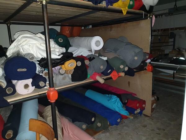 5#5990 Materie prime per lavorazione tessile e capi abbigliamento in vendita - foto 12
