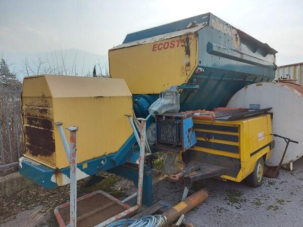 1#5997 Miscelatore per rifiuti Aleco e carrello elevatore Linde in vendita - foto 1