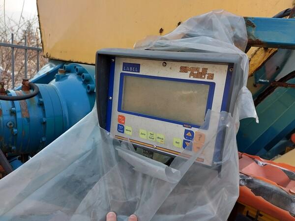 1#5997 Miscelatore per rifiuti Aleco e carrello elevatore Linde in vendita - foto 3