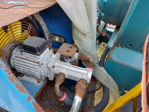 1#5997 Miscelatore per rifiuti Aleco e carrello elevatore Linde in vendita - foto 4